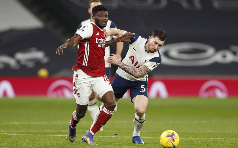 Image for Arsenal: Charles Watts has reveals Thomas Partey requested start against AFC Wimbledon