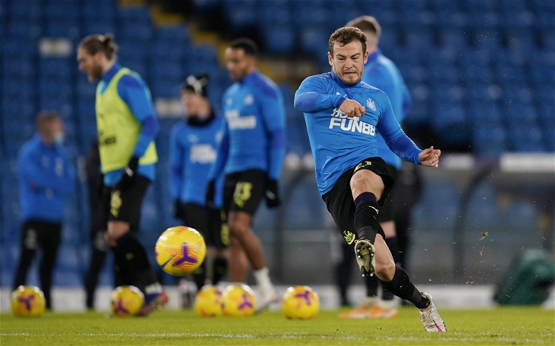 Image for Newcastle United: Fans react to Ryan Fraser photo