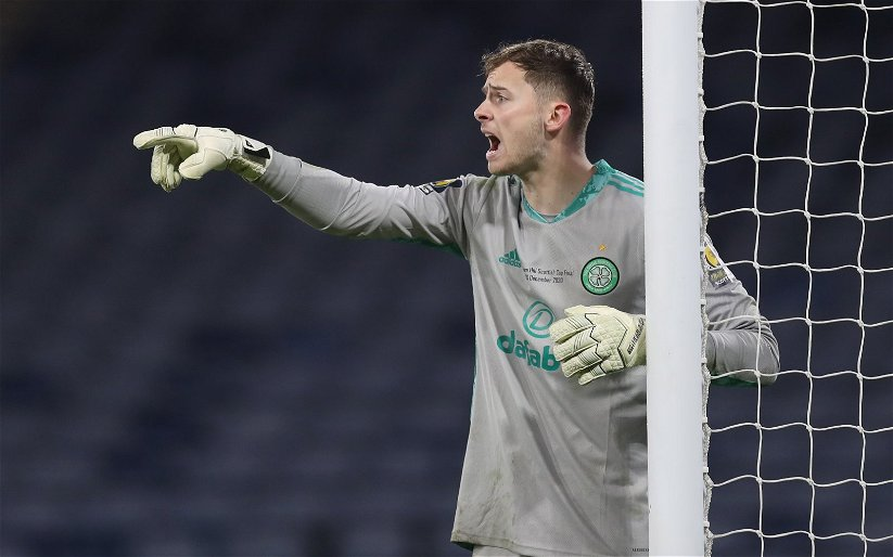 Image for Celtic: Kevin Graham slates Conor Hazard's role in the Hibernian match