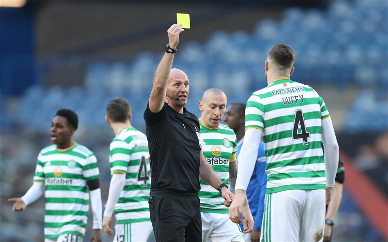 Image for Exclusive: Mark Halsey claims officials were 'right' to not send Shane Duffy off against Rangers