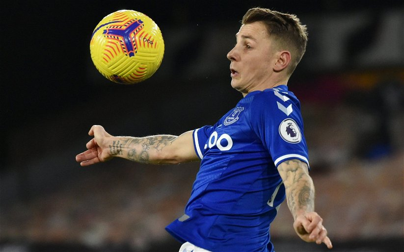 Image for Everton: Tony Scott claims Lucas Digne form is cause for 'concern'