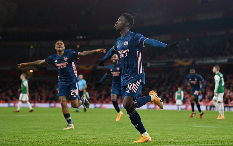 Image for Crystal Palace: Charles Watts discusses Eddie Nketiah