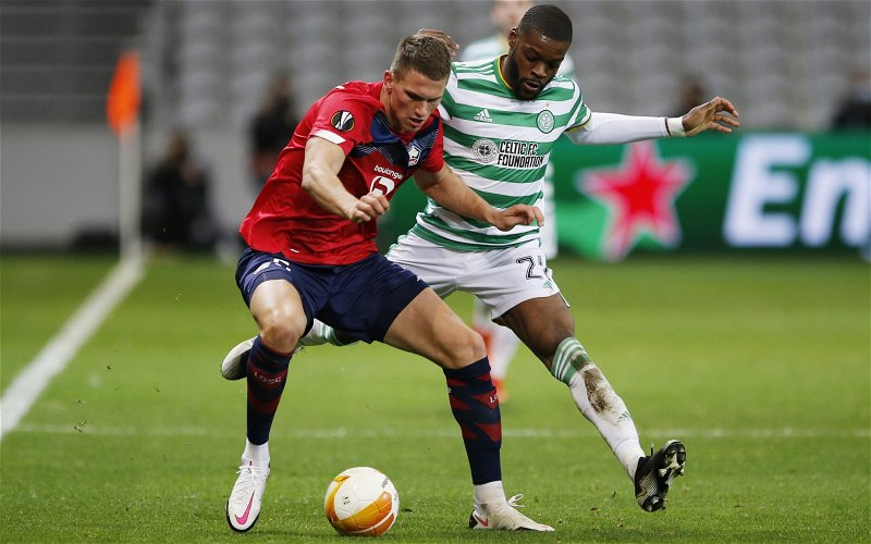 Image for Journalist: Celtic and Olivier Ntcham need to part ways