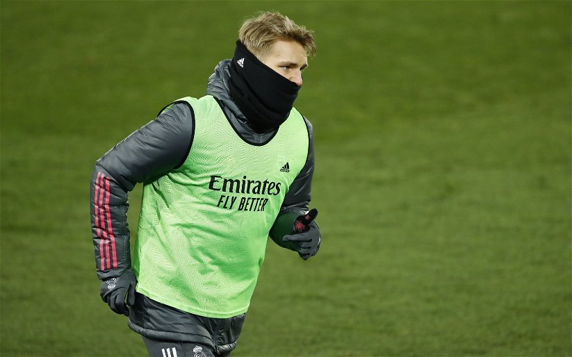 Image for Arsenal: James McNicholas criticises 'invisible' Martin Odegaard