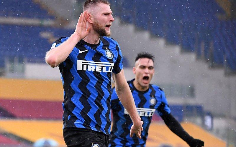 Image for Tottenham Hotspur: Fabrizio Romano discusses Milan Skriniar chase