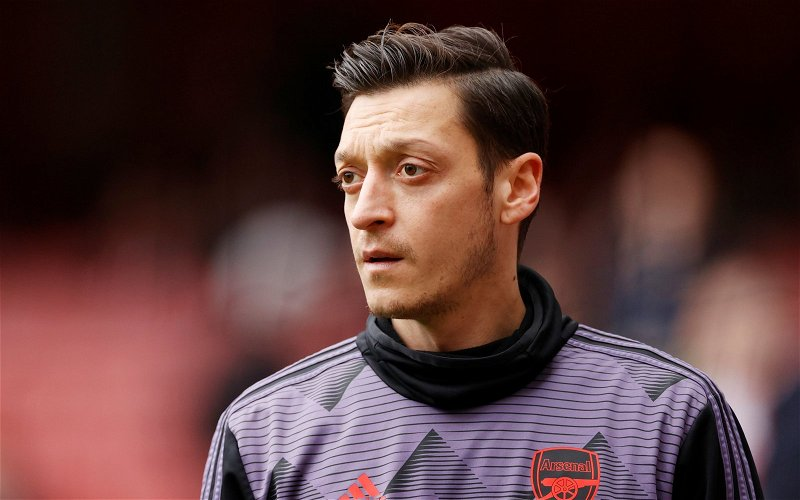 Image for Arsenal: David Ornstein discusses Mesut Ozil's current situation