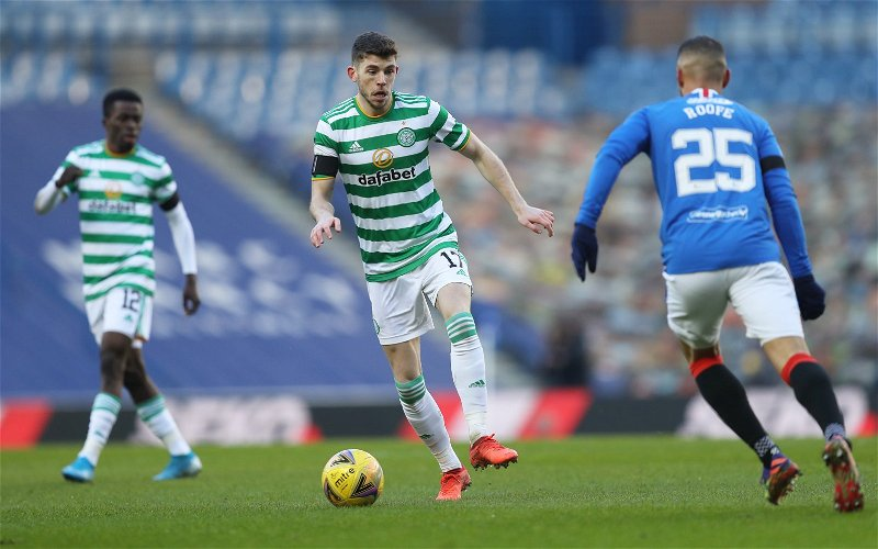 Image for Celtic: Charlie Adam says the club would rather lose Ryan Christie on a free than sell now