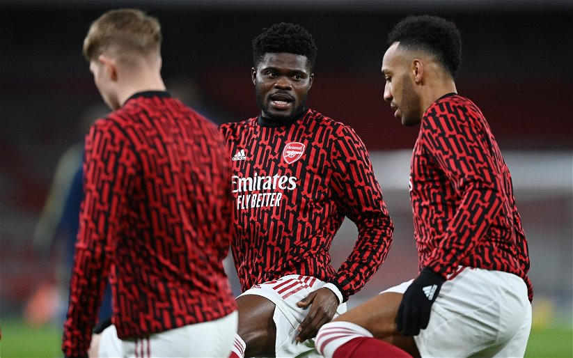 Image for Arsenal: Charles Watts shares Thomas Partey injury update