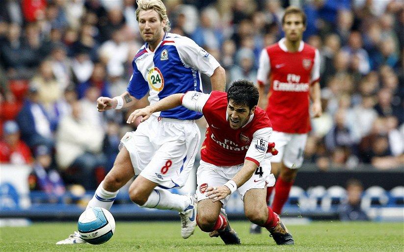 Image for Arsenal: Cesc Fabregas discusses facing Robbie Savage