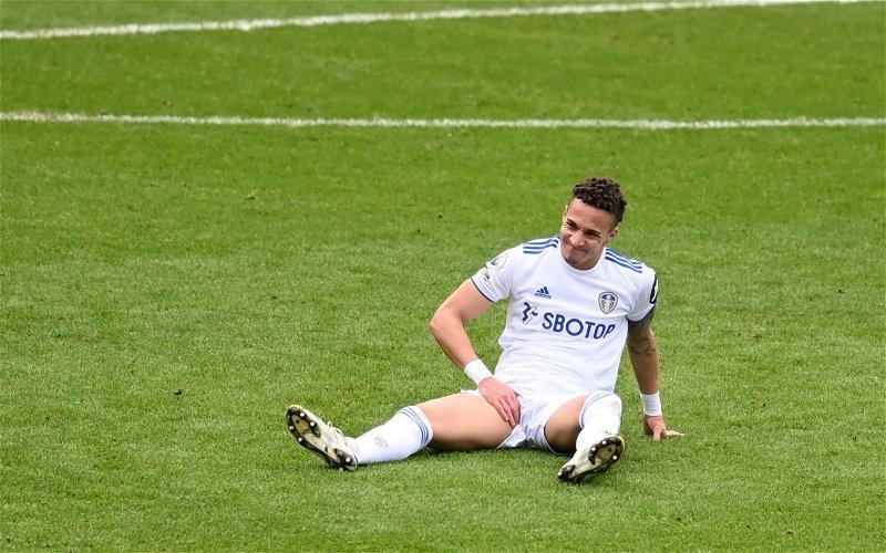 Image for Leeds United: Many fans are annoyed at journalist's Rodrigo tweet