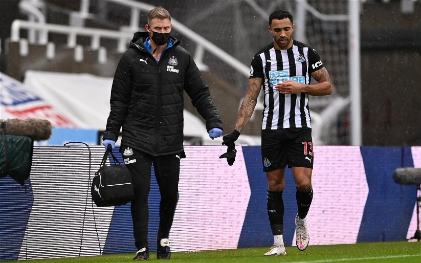Image for Newcastle United: Fans react as Chris Waugh issues Callum Wilson fitness update
