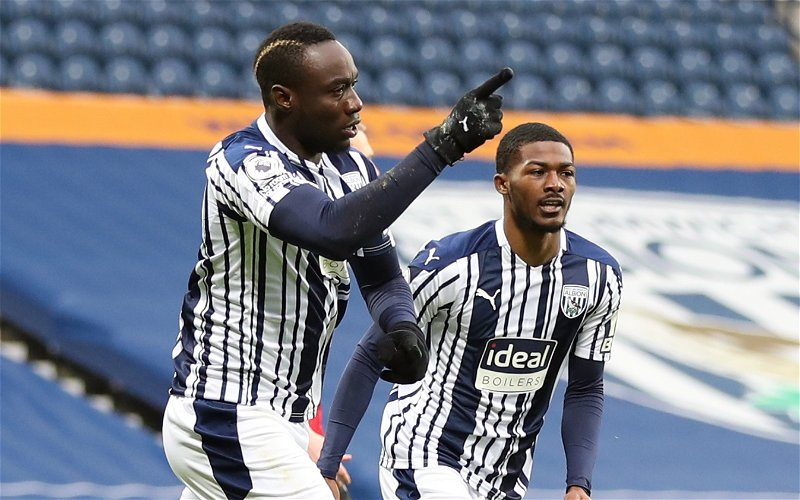 Image for West Bromwich Albion: Journalist heaps praise on Mbaye Diagne