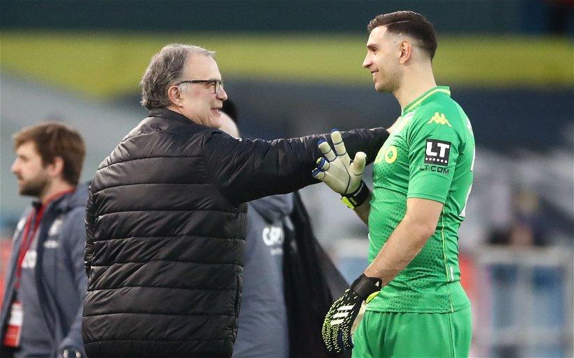Image for Exclusive: Palmer hails Aston Villa goalkeeper Martinez after Yashin Trophy nomination