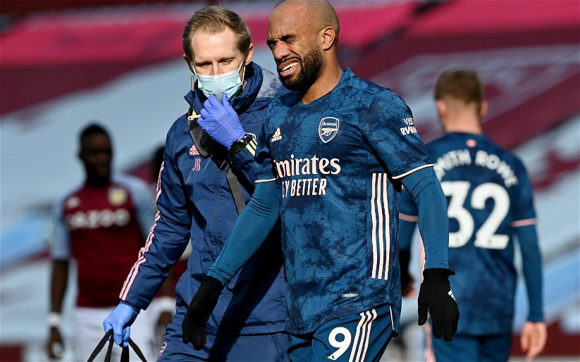 Image for Arsenal: Journalist discusses Alexandre Lacazette's situation