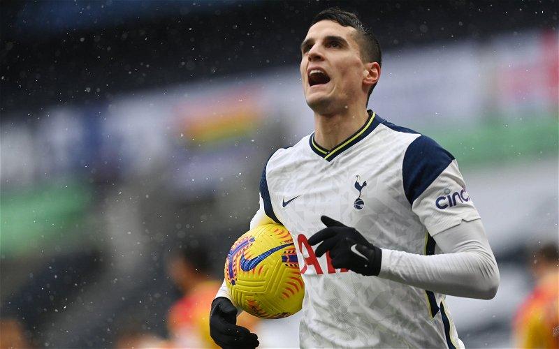 Image for Tottenham Hotspur: John Wenham criticises Erik Lamela