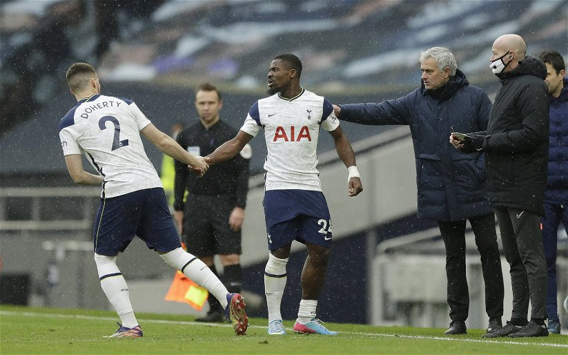 Image for Tottenham Hotspur: Fans react as Matt Doherty and Serge Aurier are linked with moves away