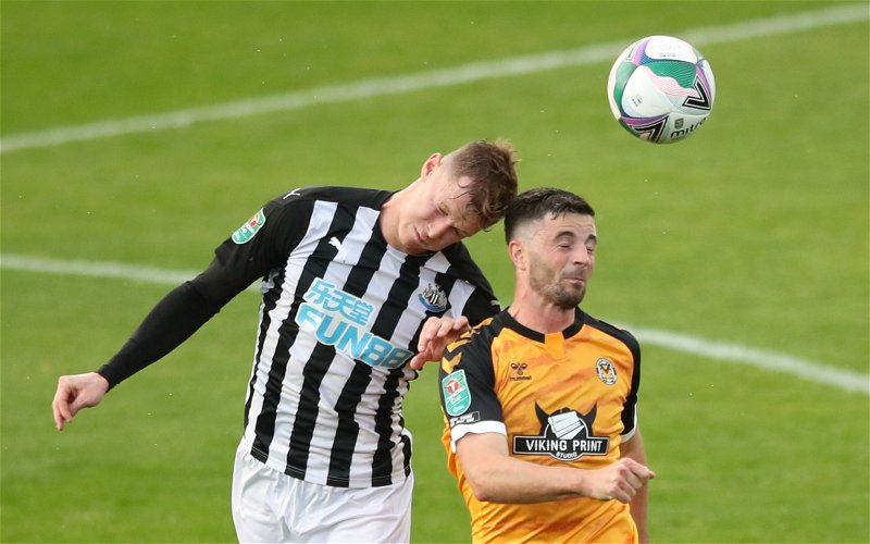 Image for Newcastle United: Fans react to Emil Krafth claims