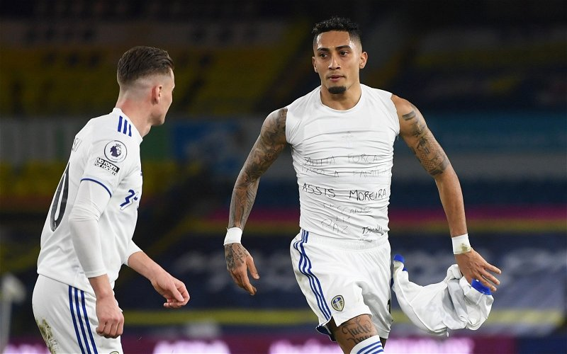 Image for Leeds United: Fans react as Raphinha impresses on Brazil debut
