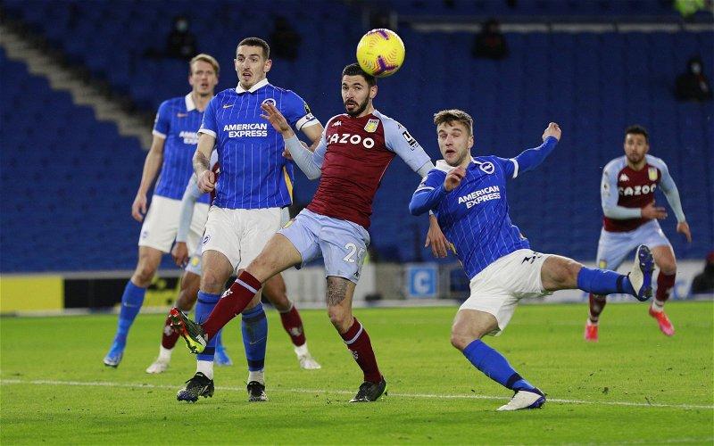 Image for Aston Villa: Journalist discusses Morgan Sanson injury worry