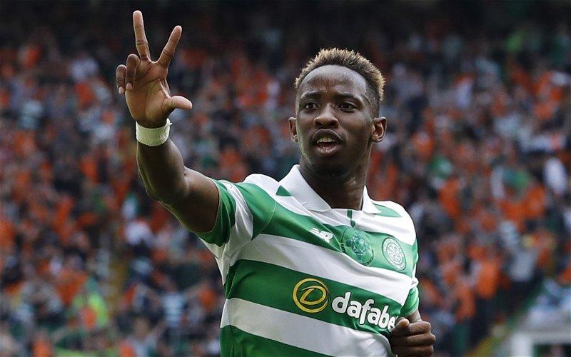 Image for Celtic: Many fans flock to Dembele's latest tweet