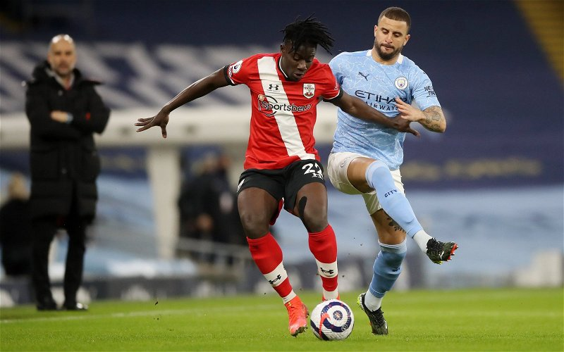 Image for Southampton: Mark Halsey discusses Sam Surridge's tackle on Mohammed Salisu