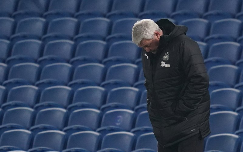 Image for Newcastle United: Fans react as damning new Steve Bruce statistic emerges
