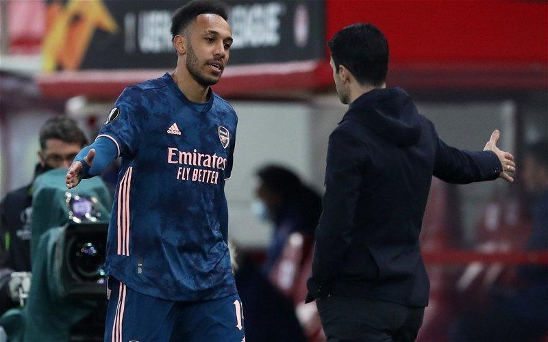 Image for Arsenal: Watts rubbishes Aubameyang claim