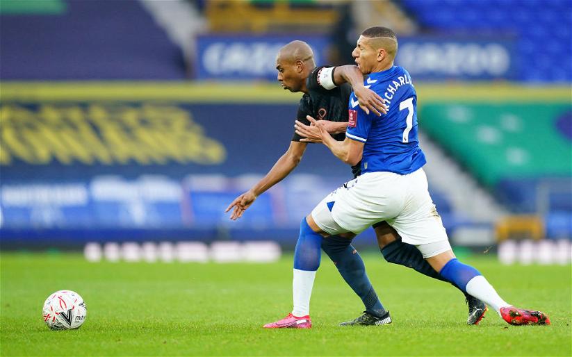 Image for Everton: Mark Halsey drops claim on Fernandinho following Richarlison incident