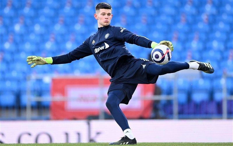 Image for Joe Wainman names his price for Leeds goalkeeper Illan Meslier