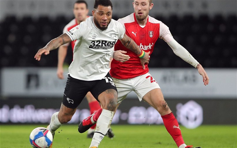 Image for Derby County: Fans react to latest Colin Kazim-Richards injury update
