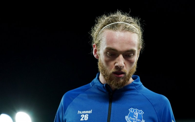 Image for Everton: Tony Scott claims four players 'aren't good enough' to even be on bench