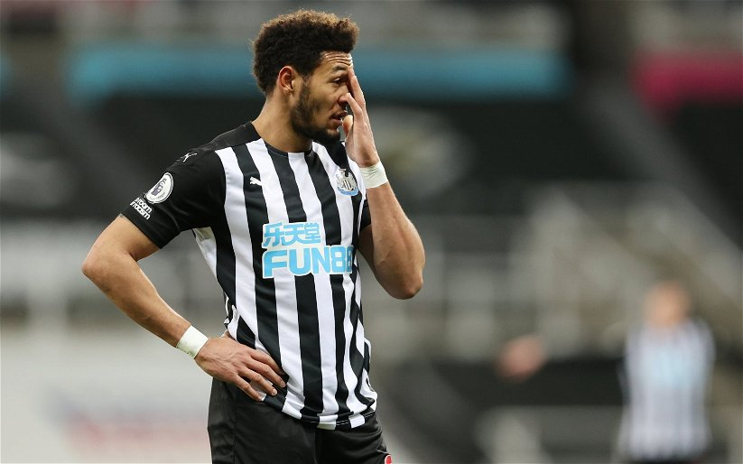 Image for Newcastle United: George Caulkin praises Joelinton