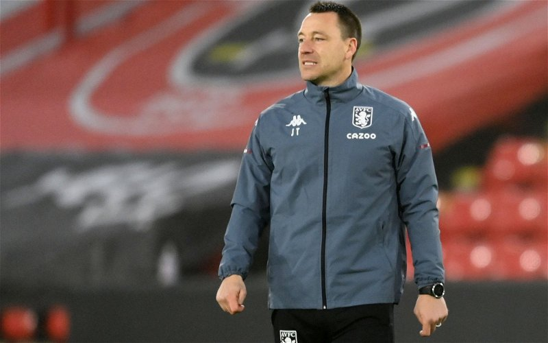 Image for Reporter tips club legend John Terry to go on and manage Chelsea