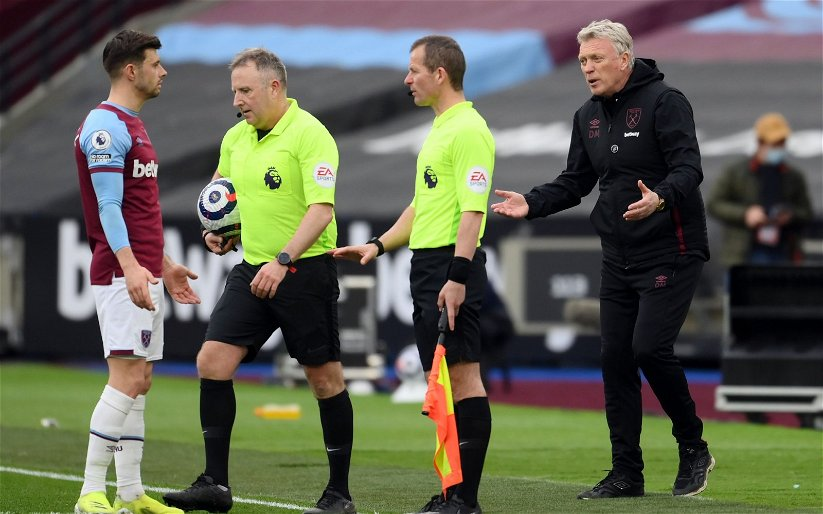 Image for West Ham United: Mark Halsey claims controversial Jarrod Bowen call could have gone other way