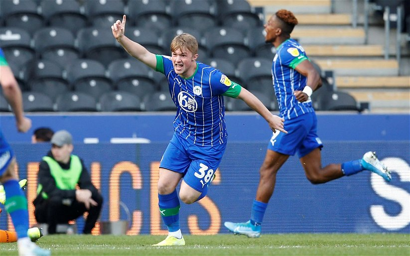 Image for Leeds United: Graham Smyth would like to see Joe Gelhardt given a first-team chance