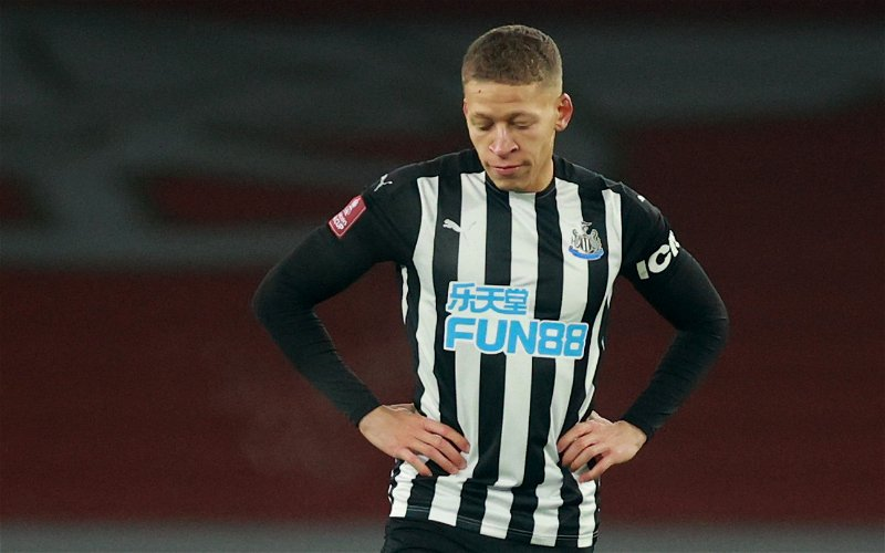 Image for Newcastle United: Fans react to Dwight Gayle's performance