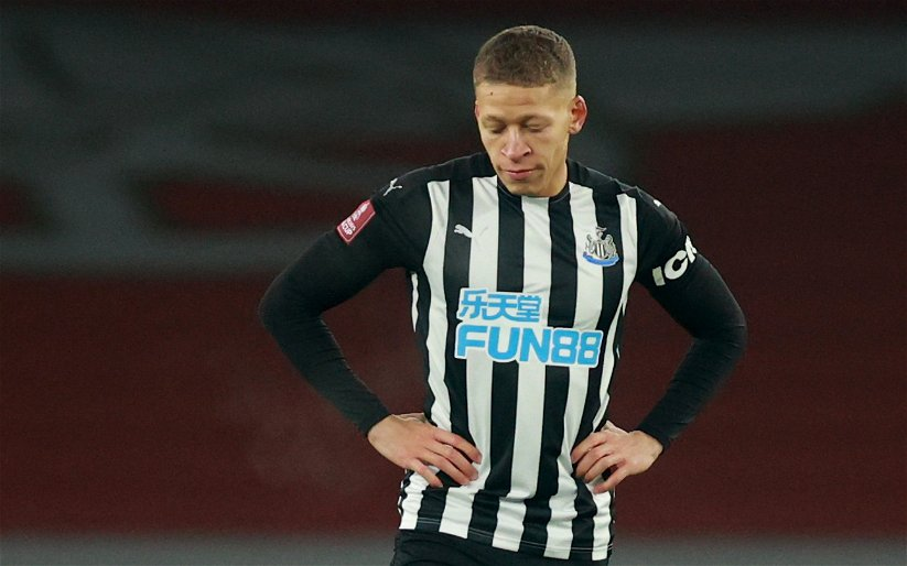 Image for Newcastle United: Steve Howey Wants Dwight Gayle Dropped