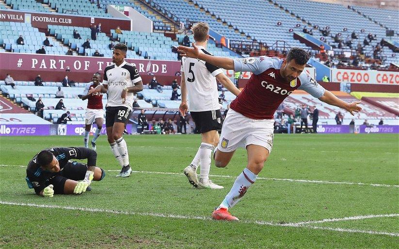 Image for Aston Villa: Alan Shearer praises Trezeguet's impact