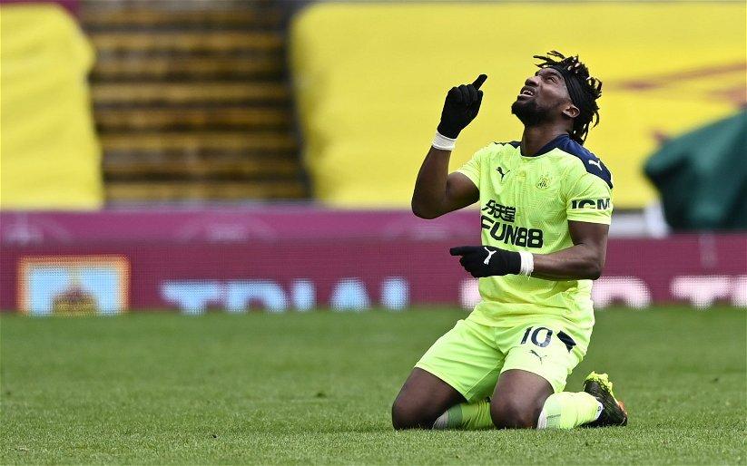 Image for Newcastle United: Jermaine Jenas praises Allan Saint-Maximin