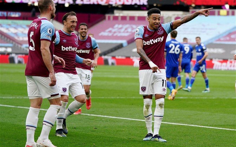 Image for West Ham United: Ex discusses potential Jesse Lingard transfer