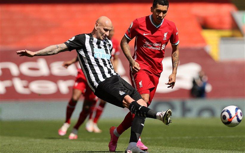 Image for Newcastle United: Alex Stewart discusses Steve Bruce's use of Jonjo Shelvey