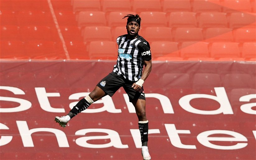 Image for Newcastle United: Chris Waugh delighted with Saint-Maximin this season