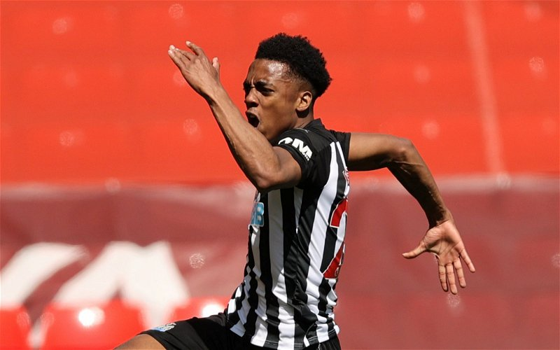 Image for Newcastle United: Fans react to Lee Ryder's update on Joe Willock