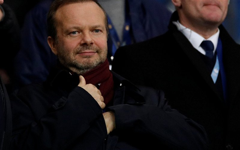 Image for Manchester United: Laurie Whitwell makes claim on who could replace Ed Woodward