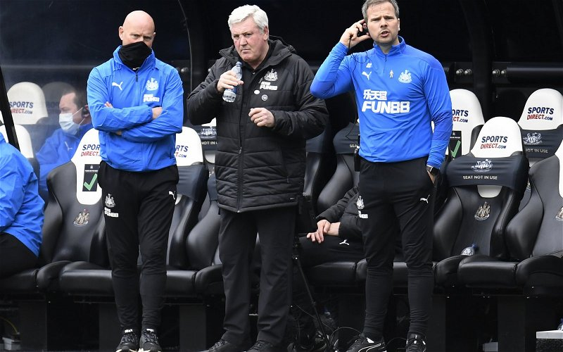 Image for Newcastle United: Fans react to Steve Bruce claim