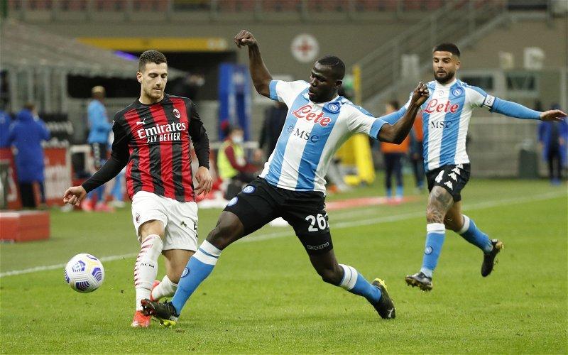 Image for Exclusive: Pundit warns Benitez signing Koulibaly will not make life easier at Everton