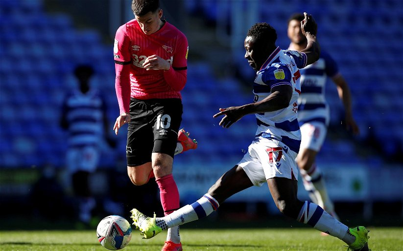 Image for Derby County: Ryan Conway discusses Tom Lawrence's performance in Reading defeat