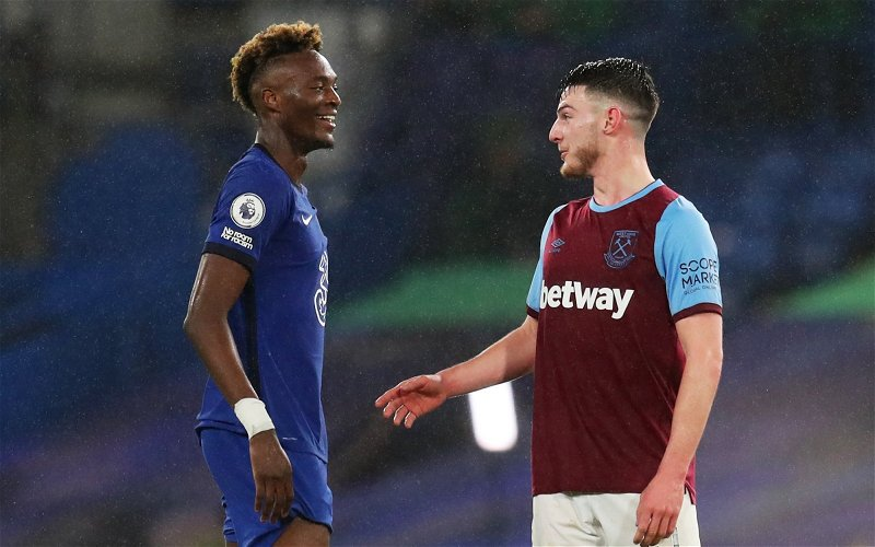 Image for Exclusive: Carlton Palmer tells West Ham to sell Declan Rice to improve squad