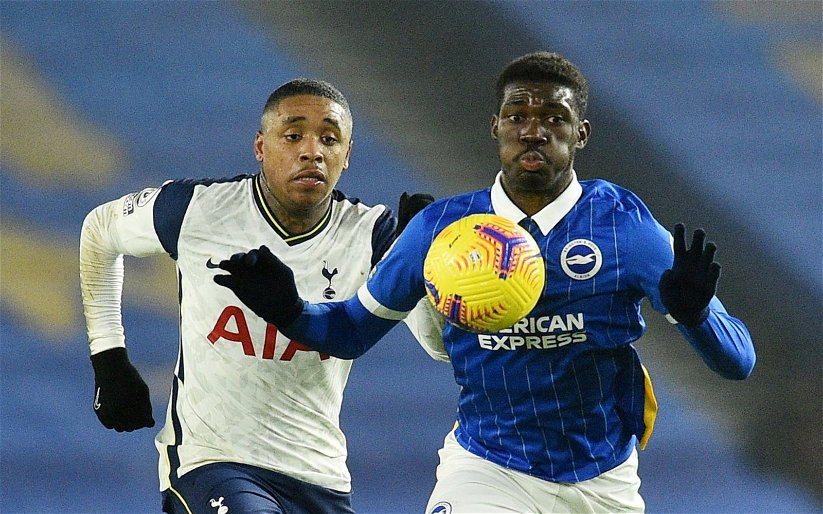 Image for Exclusive: Paul Stewart urges Spurs to win race for Brighton's Yves Bissouma
