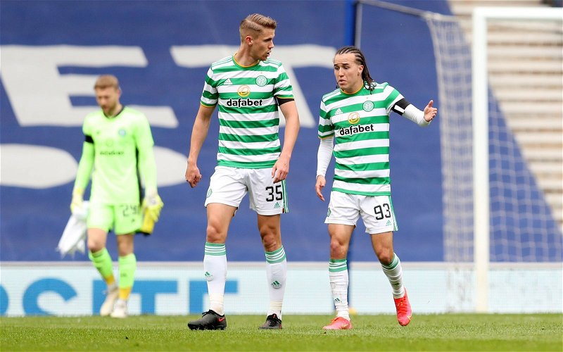 Image for Celtic: Charlie Adam tells Kristoffer Ajer to keep 'mouth shut' after new quotes